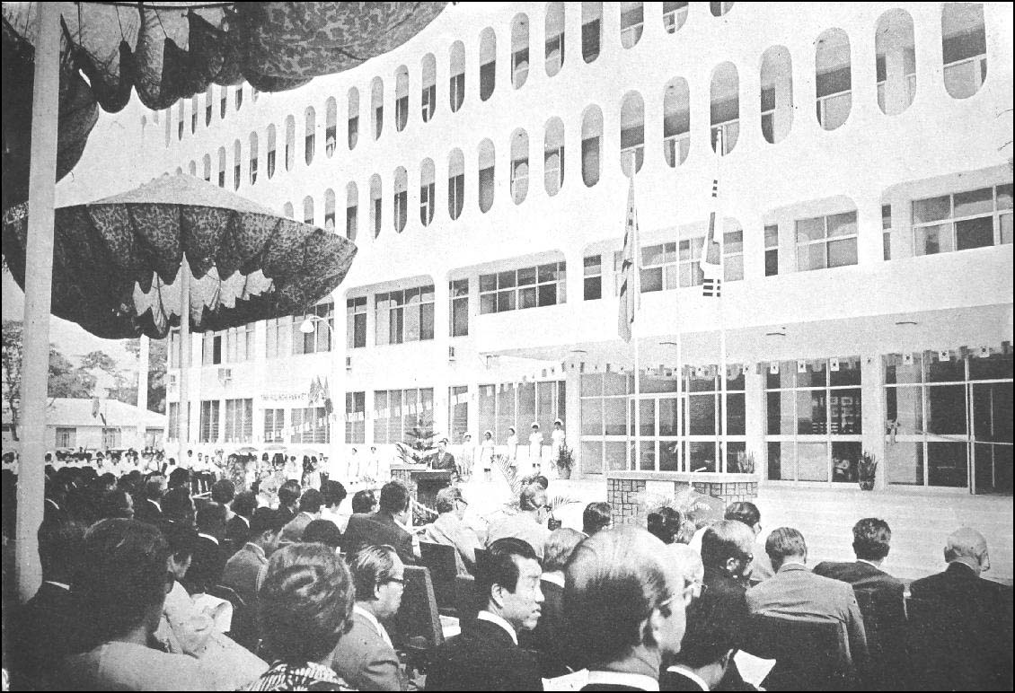 Lễ khánh thành Trung tâm Y khoa Hàn-Việt ngày 02 tháng 3 năm 1974