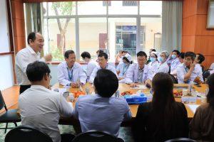PGS.TS. Tăng Chí Thượng chỉ đạo sau kiểm tra